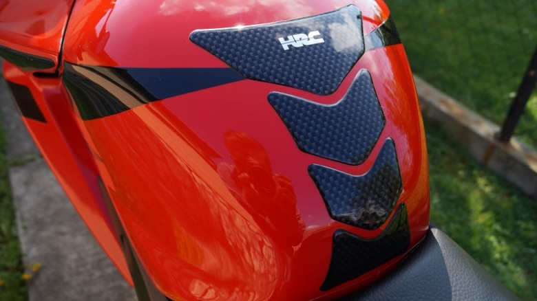 motorcycle tank protector