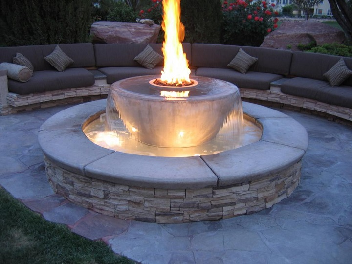 Outside Fire Pits