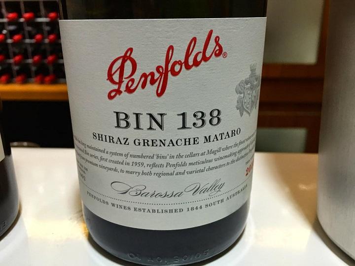 Penfolds Bin 138 Shiraz Grenache Mataro 2011