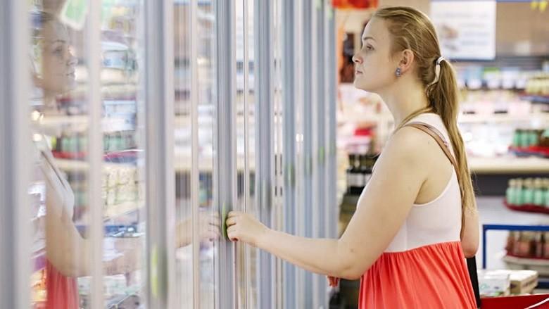 upright 2 door freezers