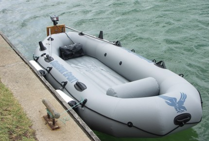 inflatable boat fishing