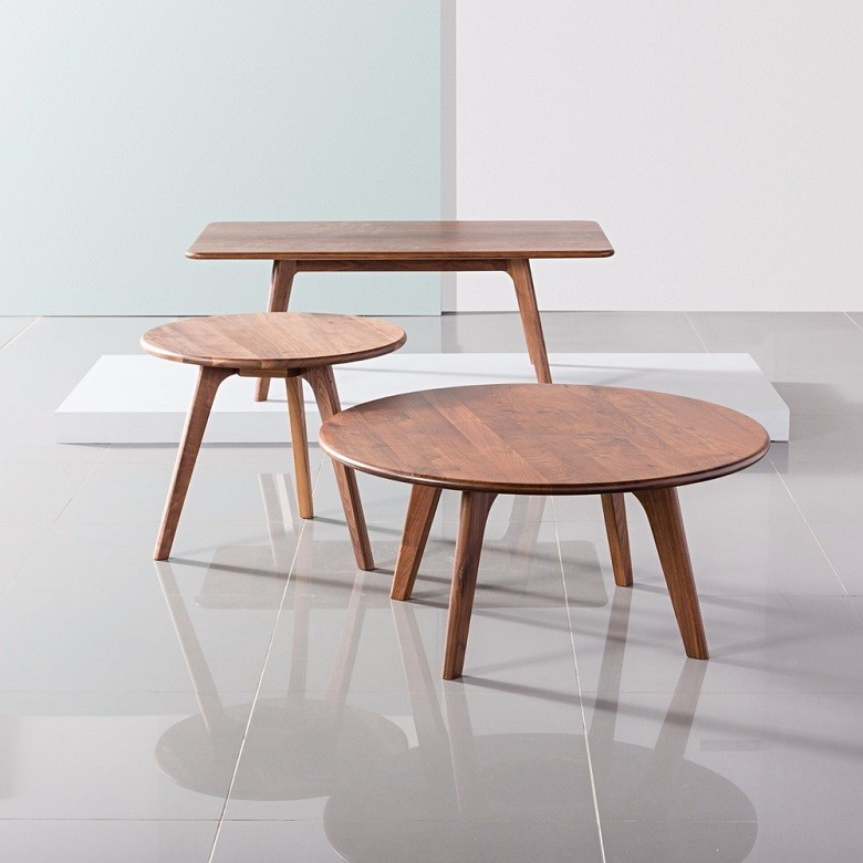 walnut modern coffee table 2