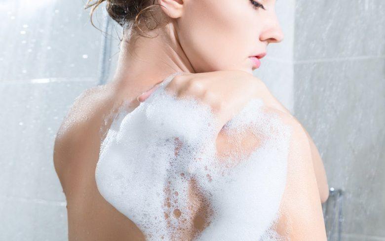 Showering-on-morning