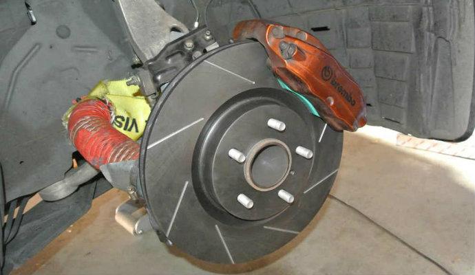 rda brake rotors