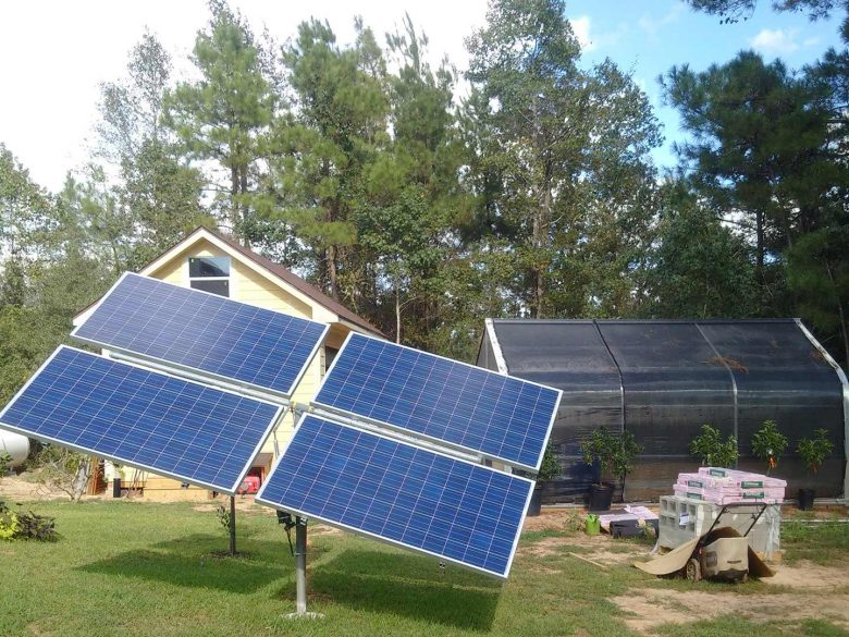 off the grid solar system outdoor