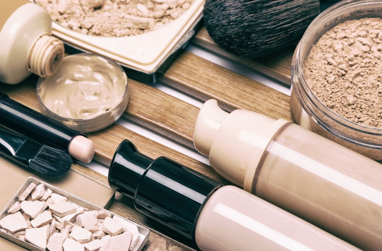 various-covering-makeup-products