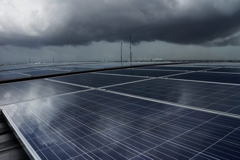 solar power in bad weather