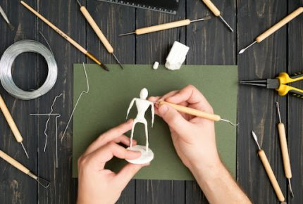 Clay Modeling and Sculpting Tools