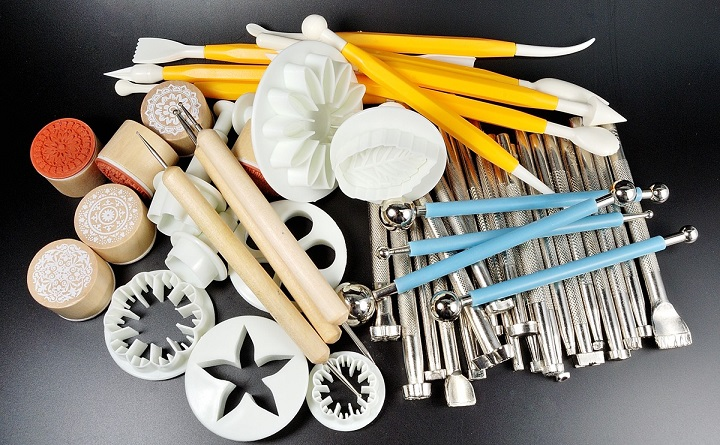 modeling supplie clay tools